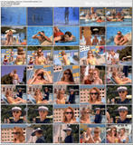 ALYSSA MILANO & JAMIE LUNER - bikini/underwear scenes from Confessions of Sorority Girls - 2 clips