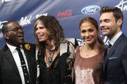 Дженнифер Лопес, фото 8826. Jennifer Lopez - American Idol Top 13 Finalists Party, march 1, foto 8826