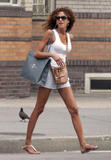 Noemie Lenoir - Candids in NYC - August 6, 2010 (x19)