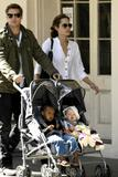 Angelina Jolie and Brad Pitt with Daughters Shiloh and Zahara in New Orleans, 3/5, 7 HQ