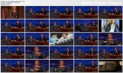 Julia Stiles @ Conan 2013-01-22