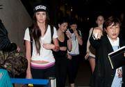Kendall Jenner at LAX Airport - April 2, 2012