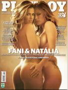 Fani y Natalia en Playboy Noviembre 2010