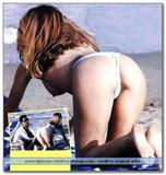 Adriana Volpe in white bikini, beach candids Foto 88 (Адриана Волп в белом бикини, пляж Candids Фото 88)