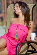 Дениз Милани, фото 5586. Denise Milani Sunbathing in pink :, foto 5586