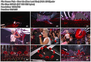 P!nk - Blow Me (One Last Kiss) (VMA 2012) [HDTV 720p]