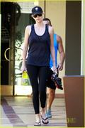 Charlize Theron - Going to the gym in LA, August 1, 2011